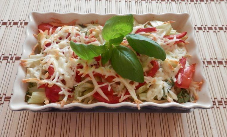 Recept Řapíkatý celer s parmazánem - Řapíkatý celer zapečený