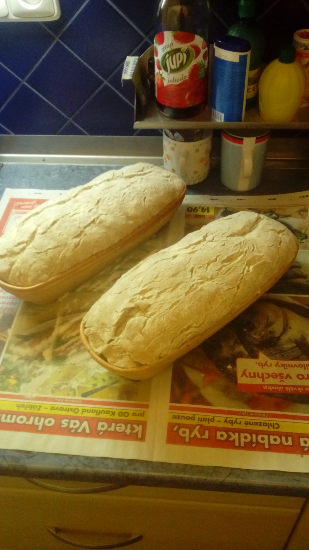 Recept Chléb z žitného kvásku - Z mísy do ošatky.