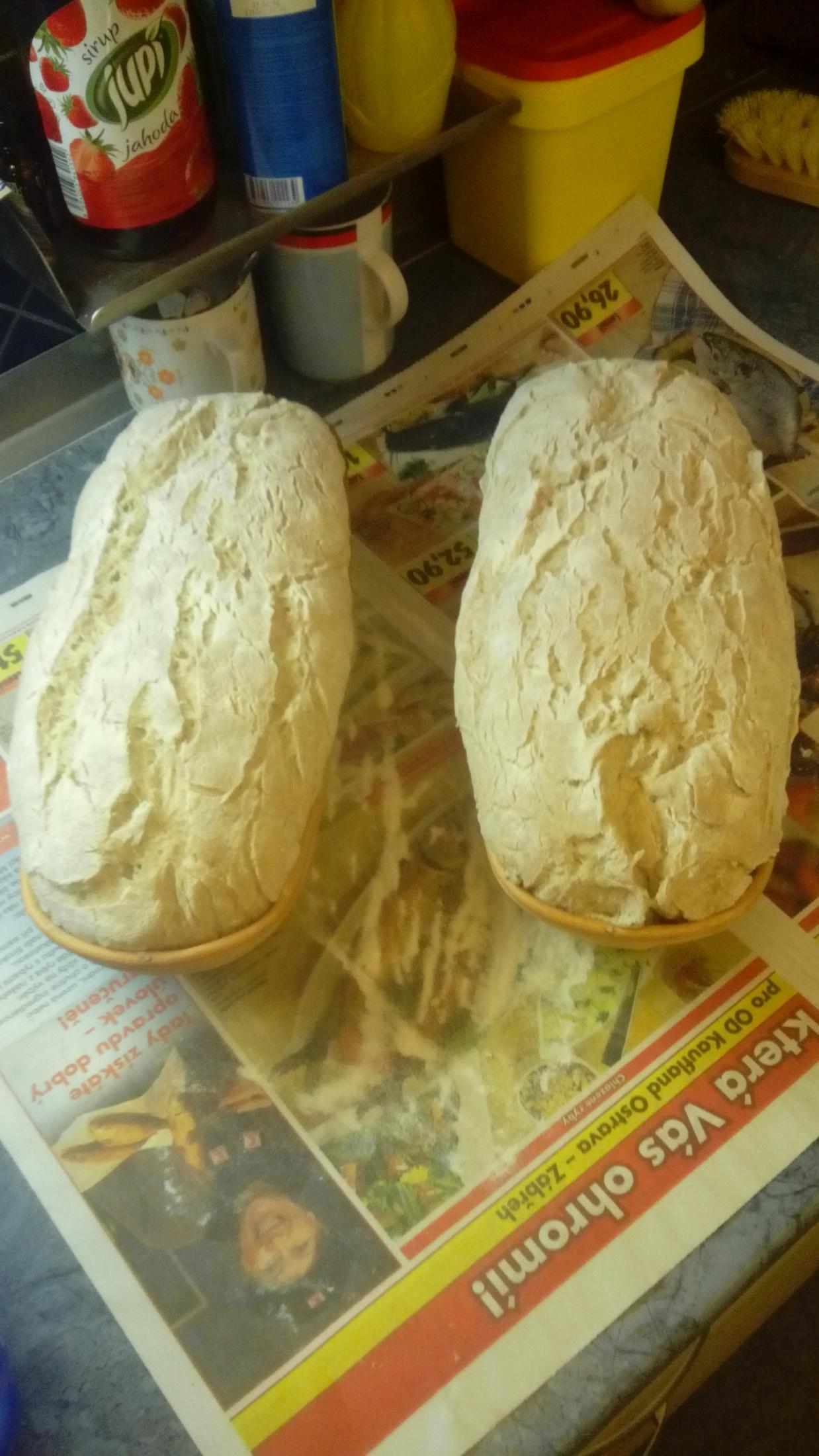 Recept Chléb z žitného kvásku - Nechat nakynout.