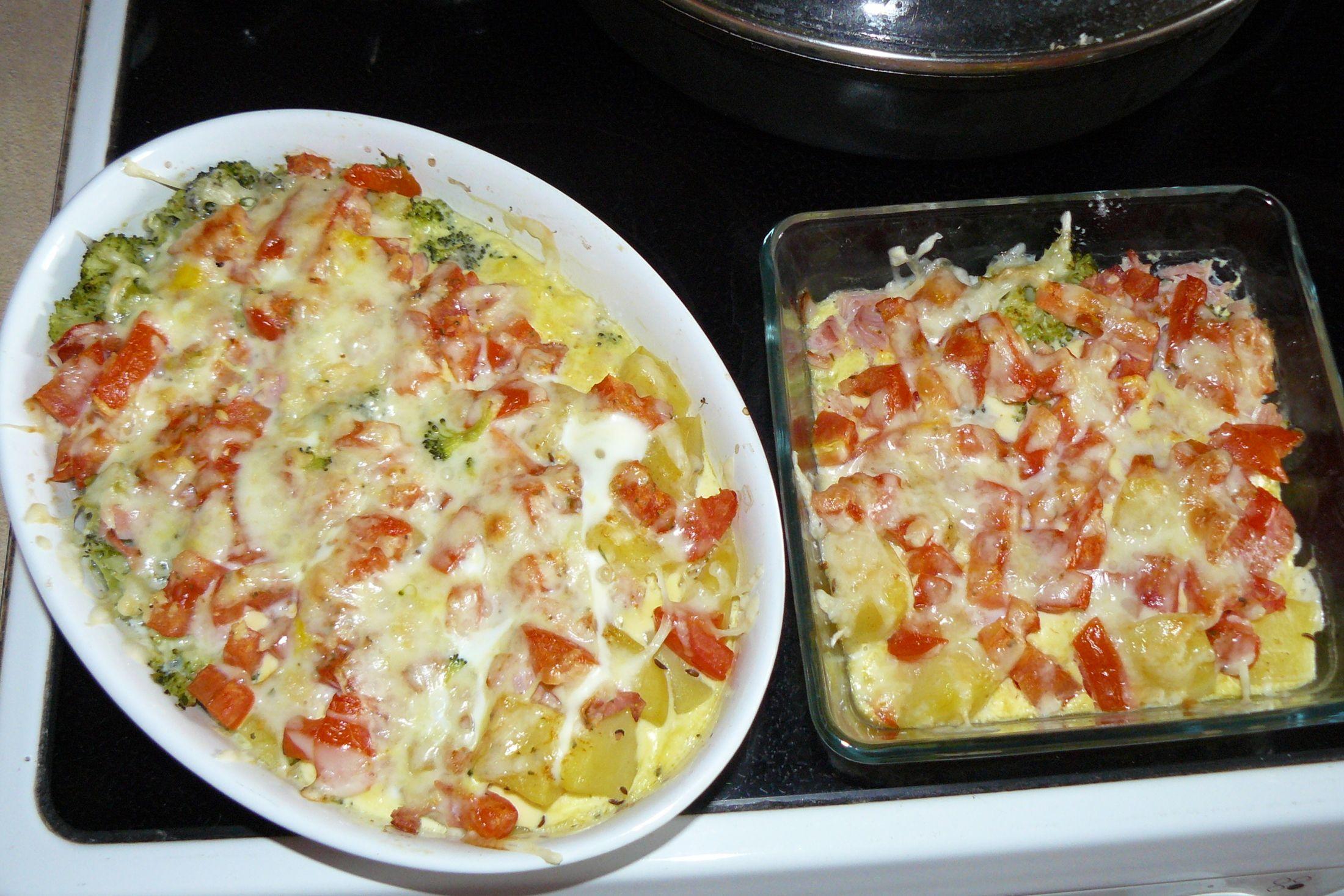 Recept Výborná zapečená brokolice se sýrem - Výborná zapečená brokolice se sýrem