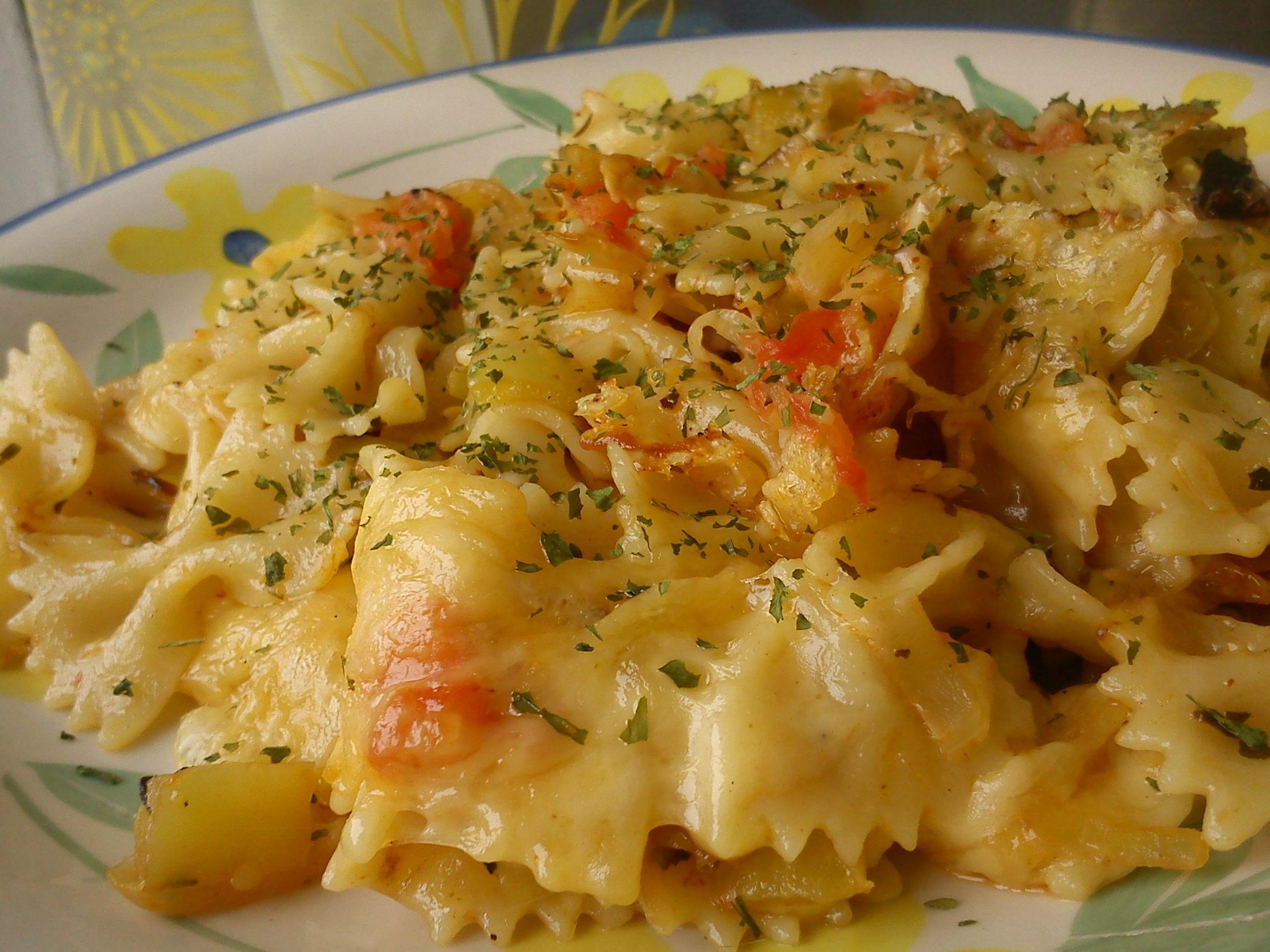 Recept Zapečené dietní těstoviny alá Itálie - Zapečené dietní těstoviny alá Itálie