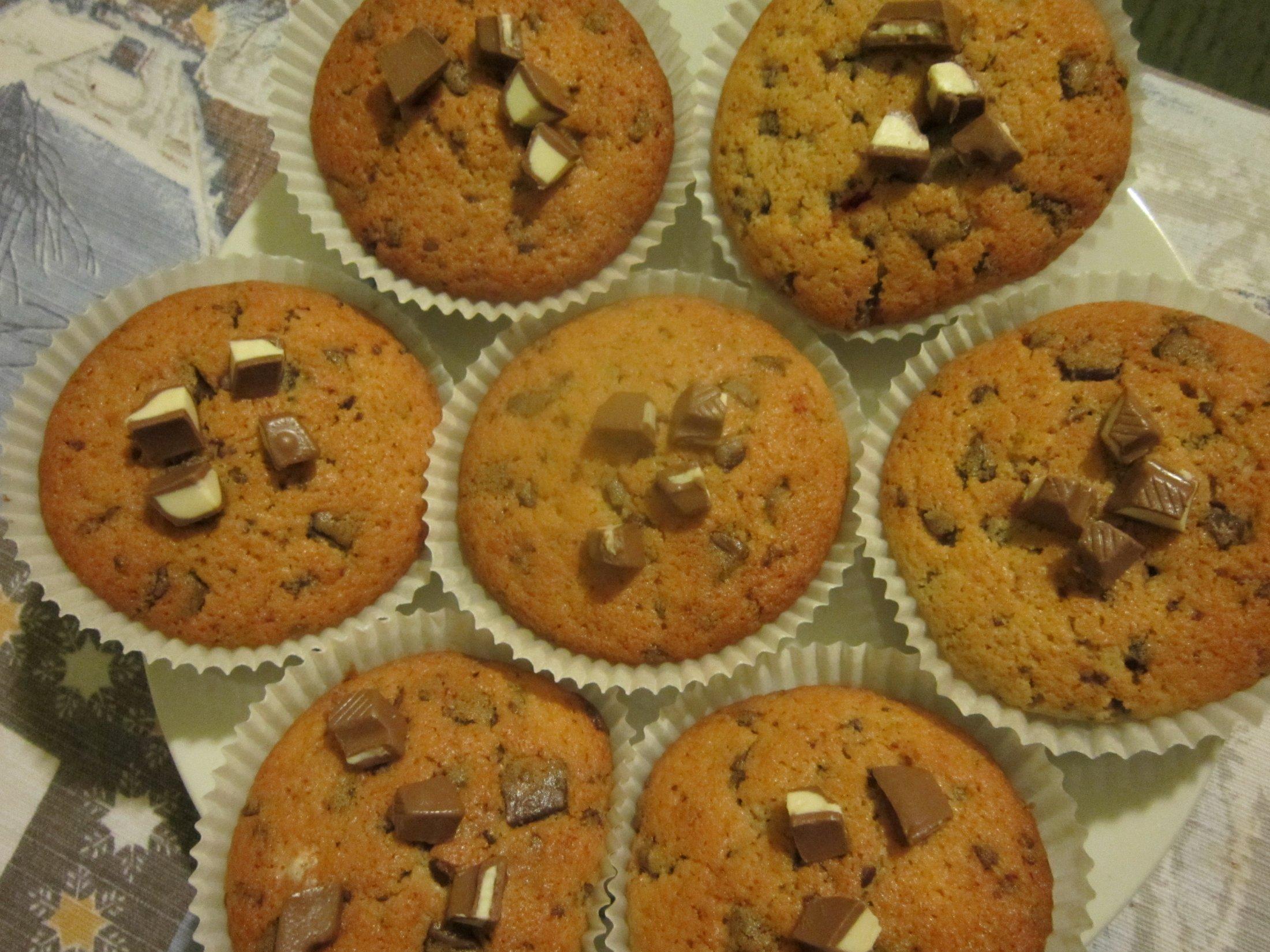 Recept Čokoládové mufiny - Čokoládové mufiny