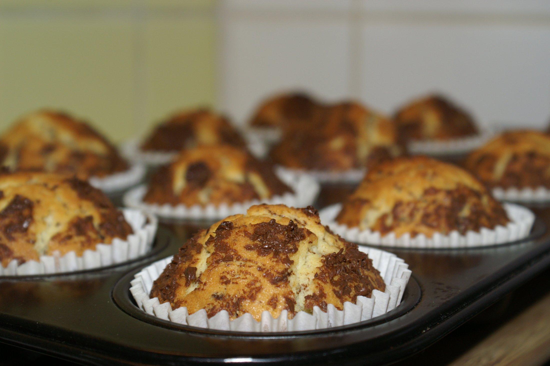 Recept Čokoládové mufiny - muffins