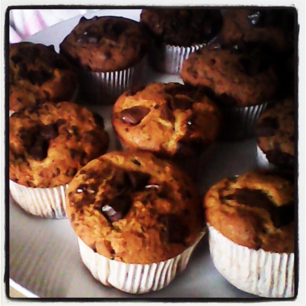 Recept Čokoládové mufiny - byly výborné!!!