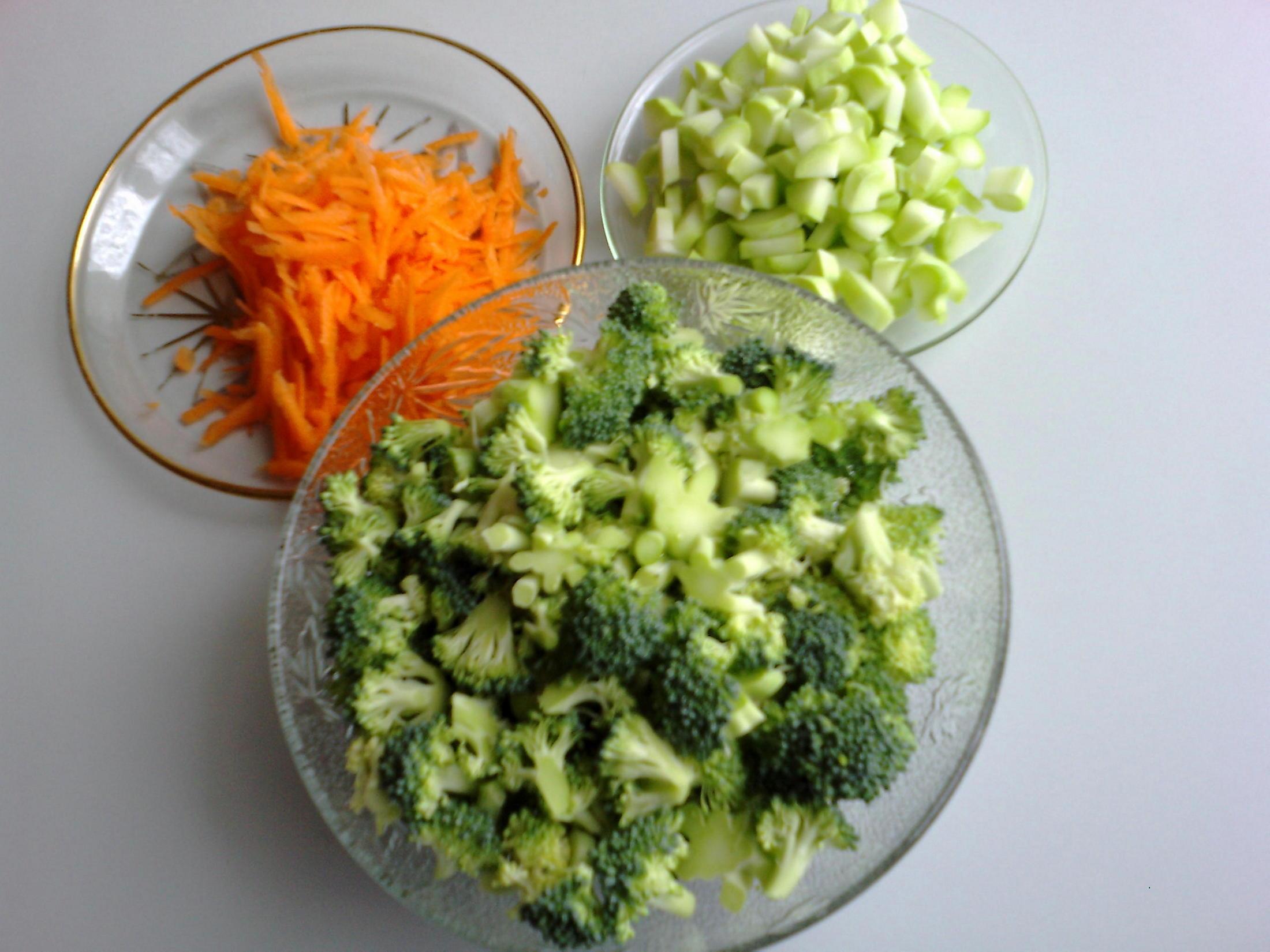 Recept Brokolicová polévka s vločkami - Brokolicová polévka s vločkami.