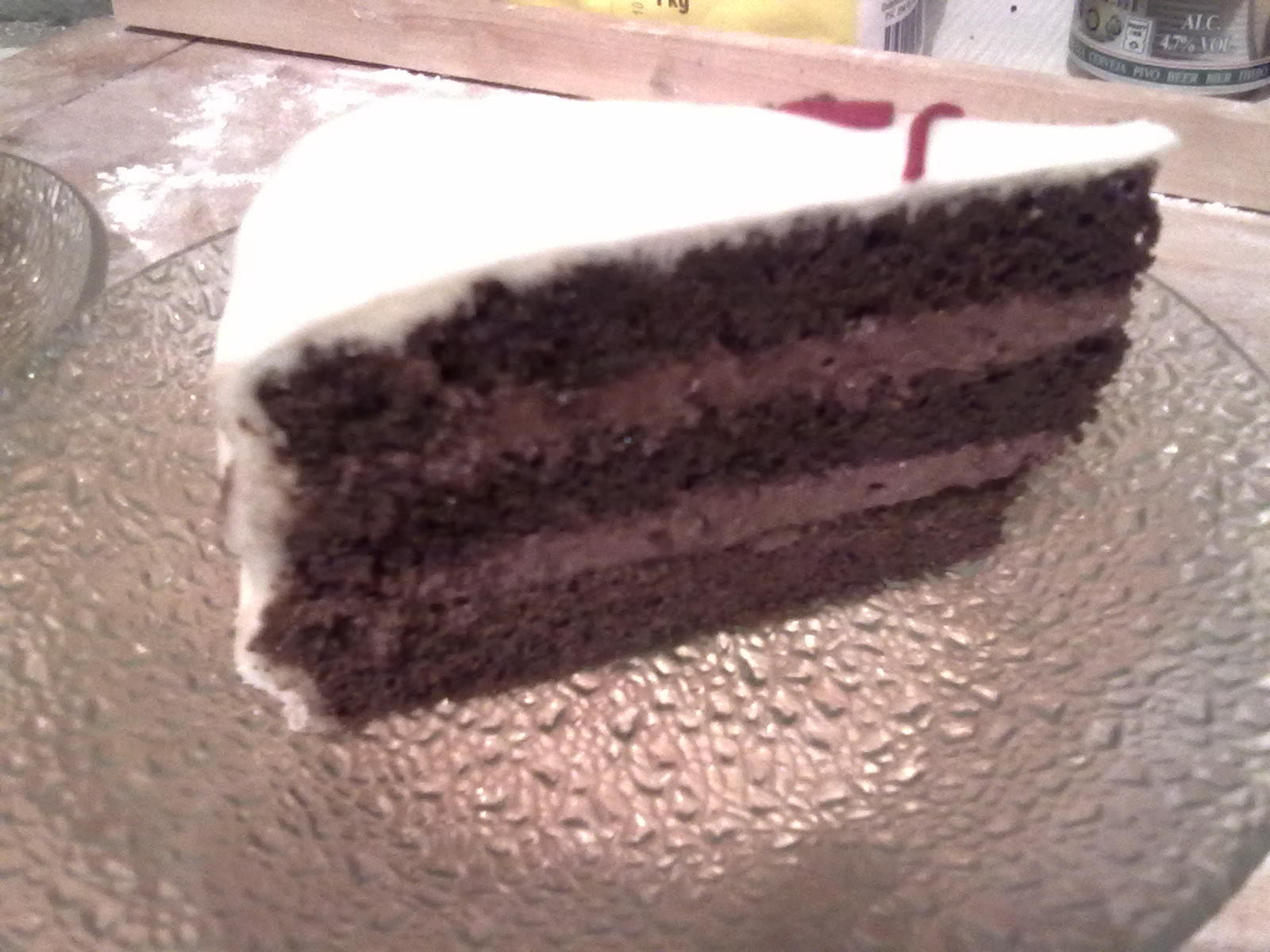 Ďáblíkův čokoládový dort