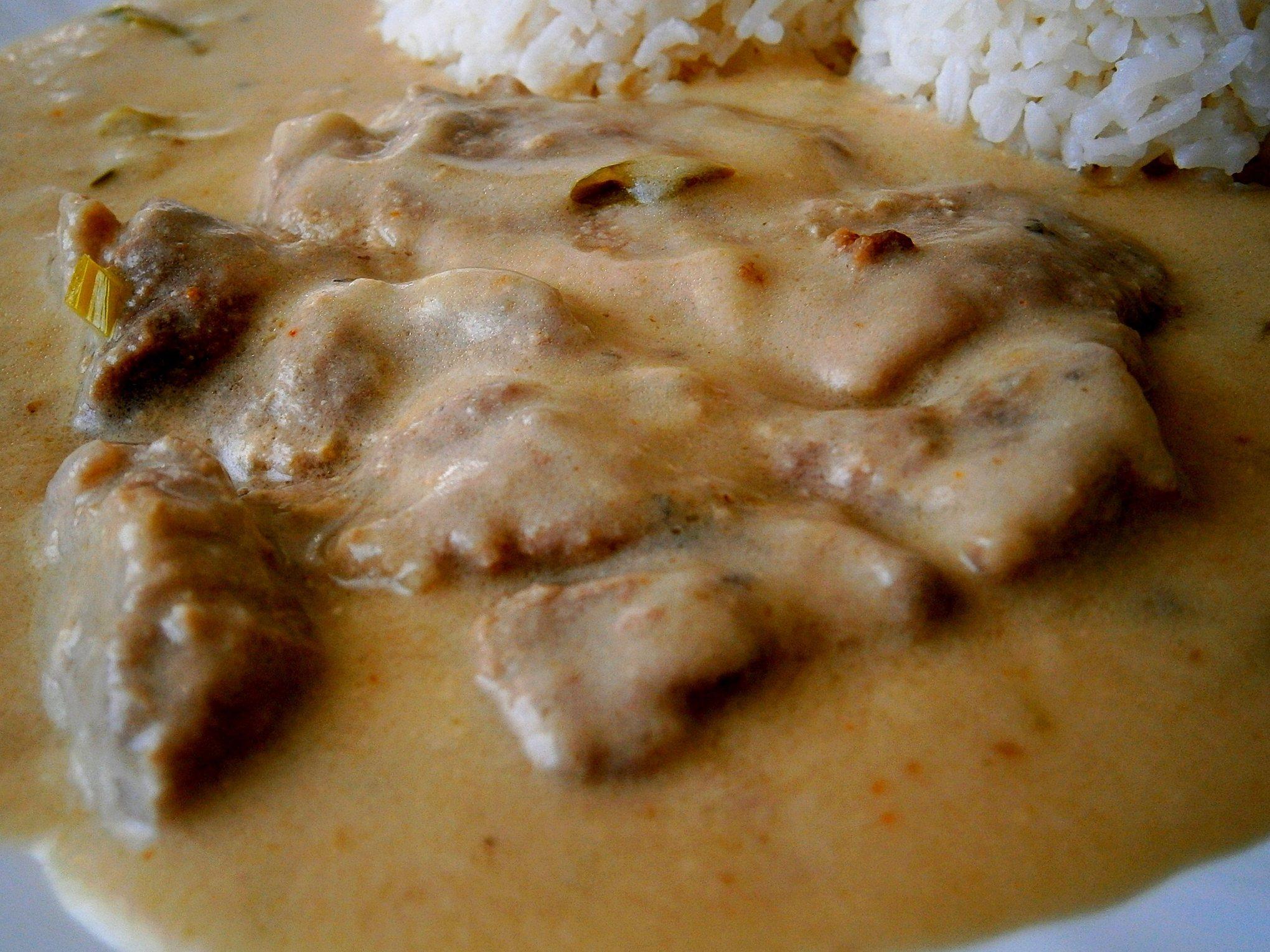 Recept Krkovička v kefíru z papiňáku - hodí se rýže, nebo knedlík