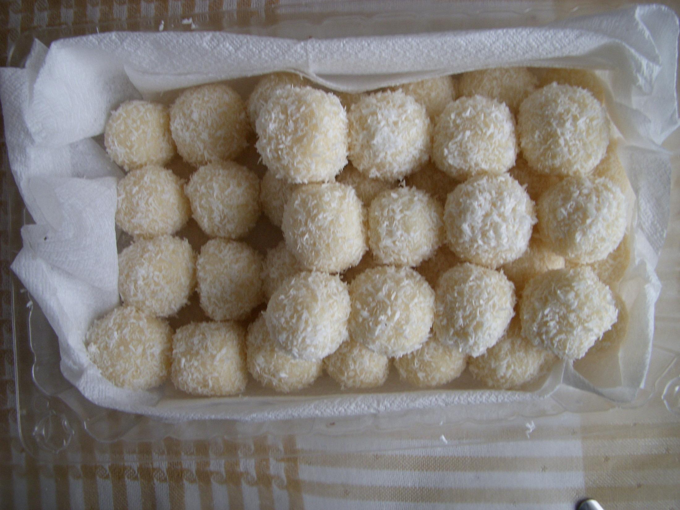 Kuličky ala kokosový suk
