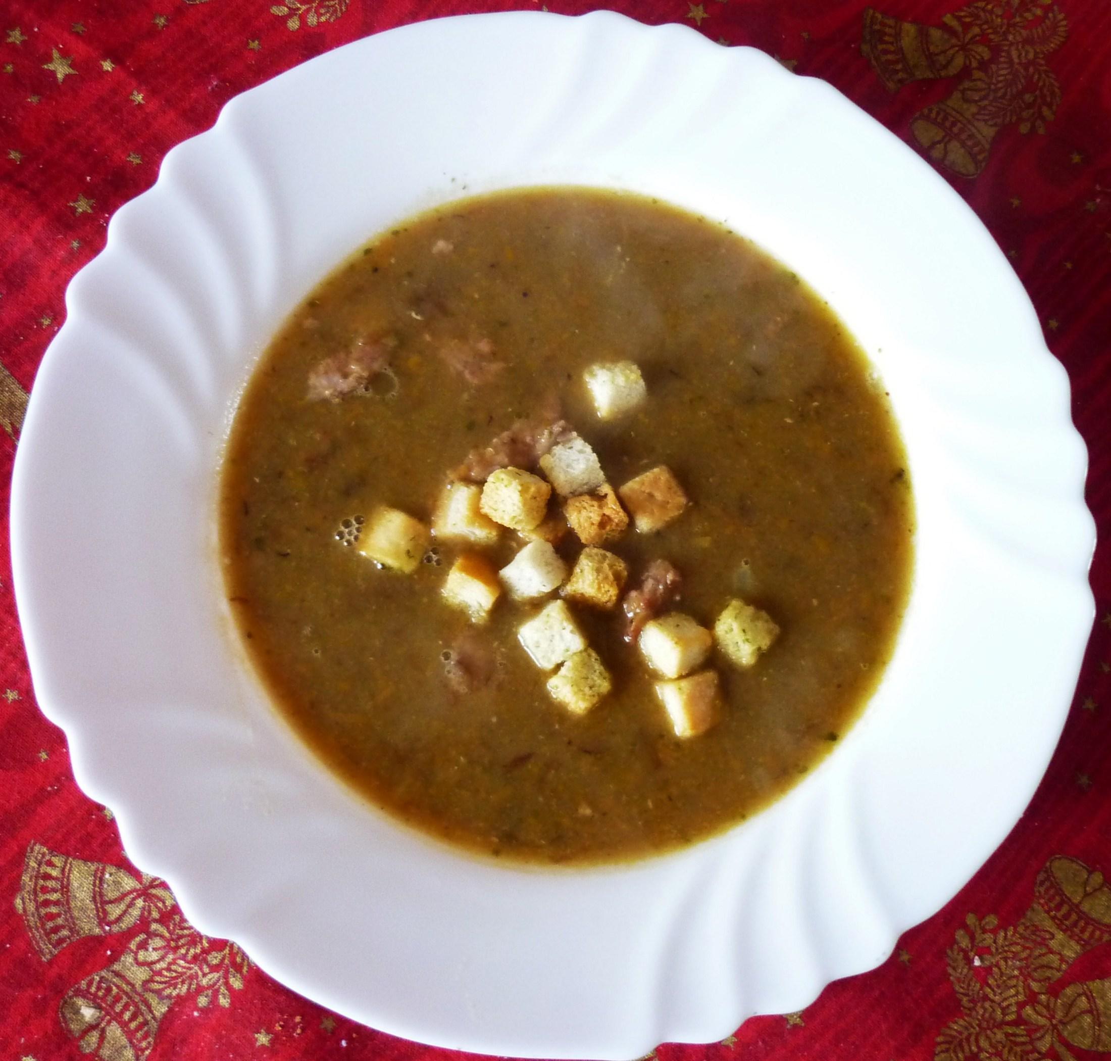 Výborná čočková polévka