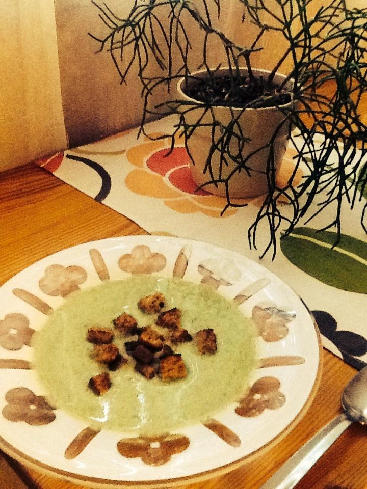 Výborný brokolicový krém