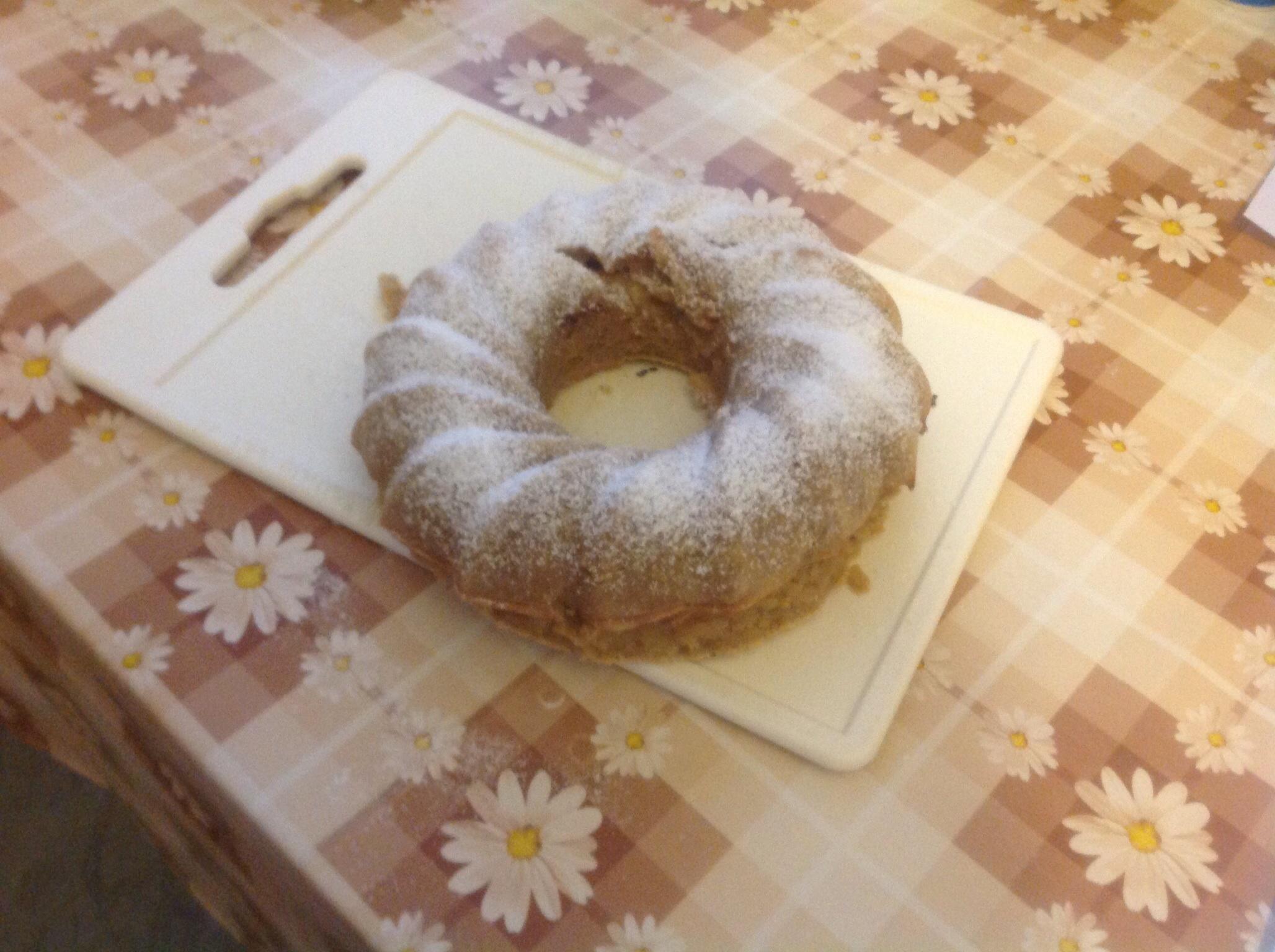 Fotografie receptu: Výborná jablečná bábovka