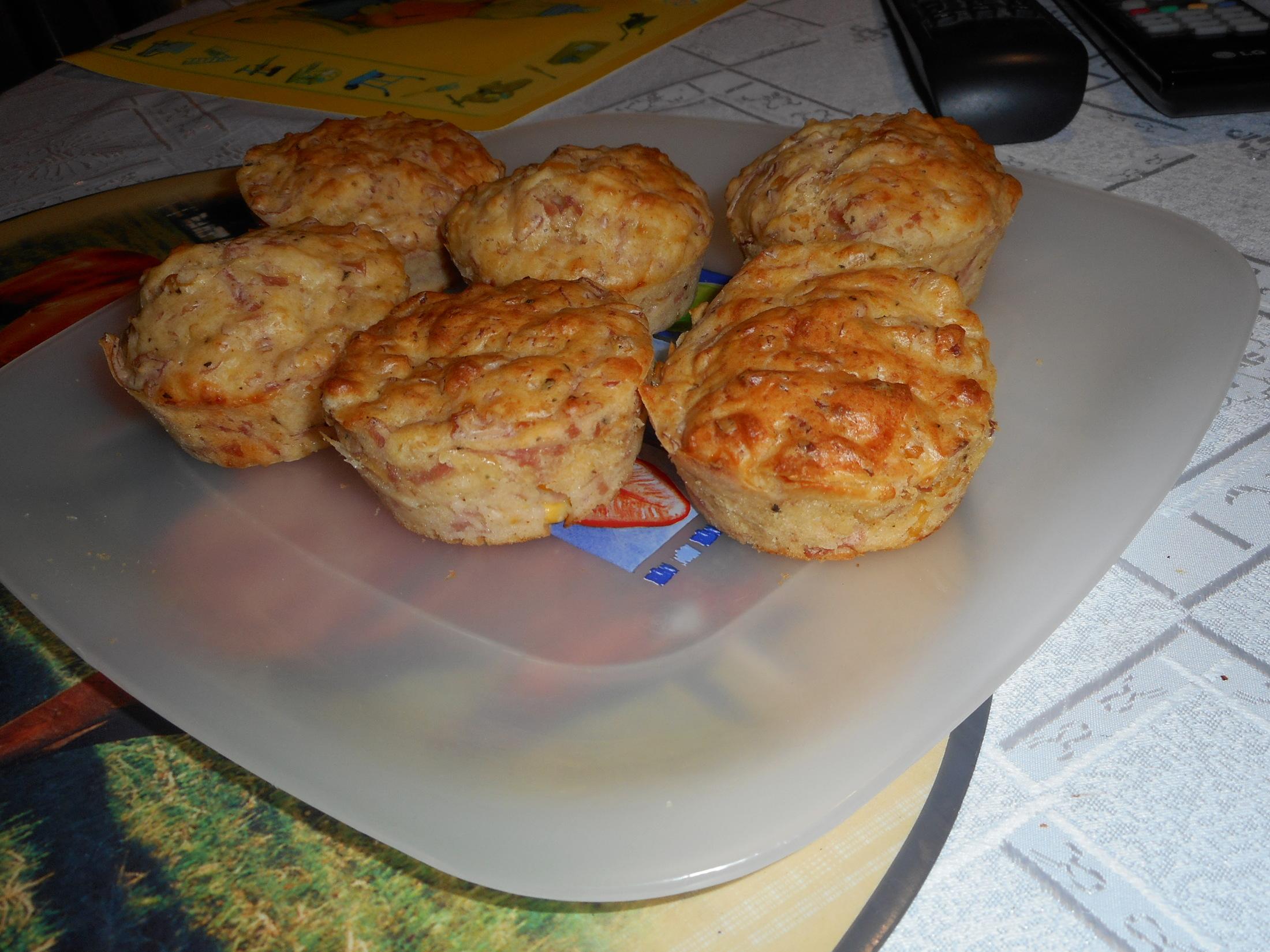 Fotografie receptu: Netradiční pizza muffins