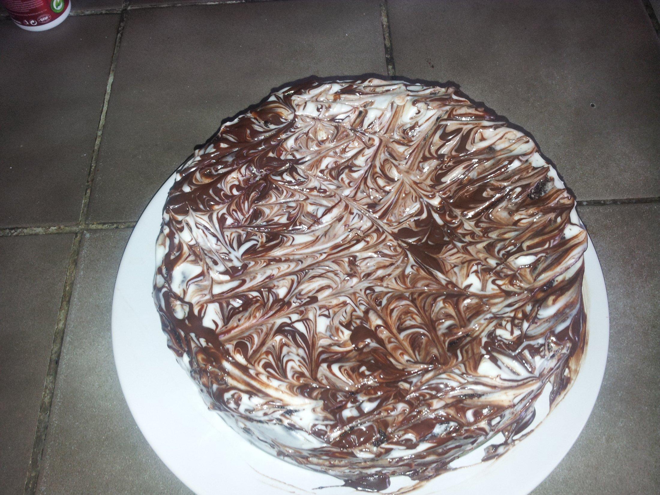 Recept Brownies s mascarpone - Brownies s mascarpone