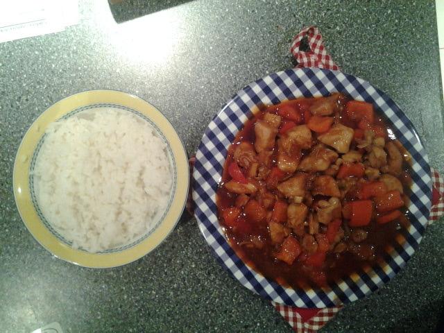 Fotografie receptu: Sladkokyselé kuře