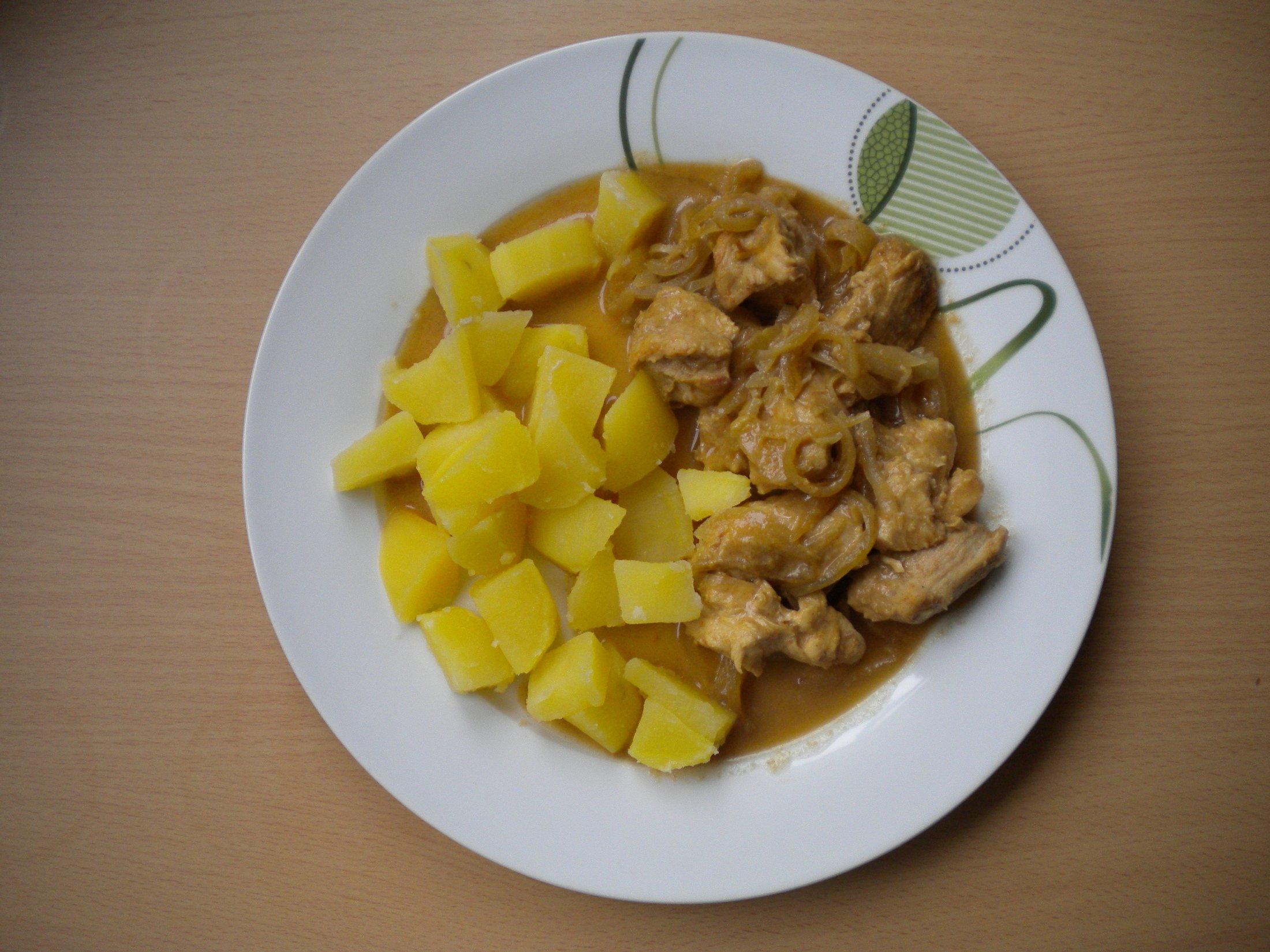 Fotografie receptu: Kuřecí s chilli-medovou marinádou