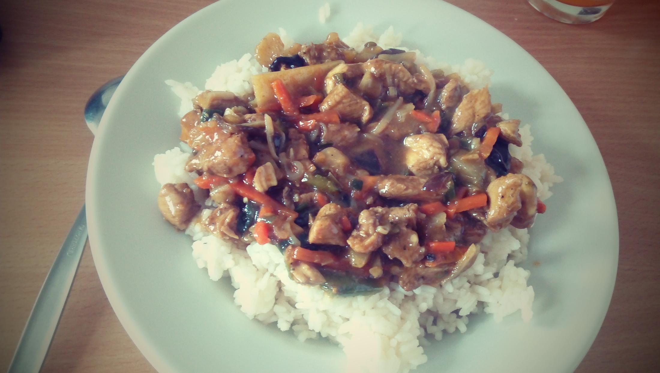 Recept Rychlá kuřecí čína - Vynikající čína ❤