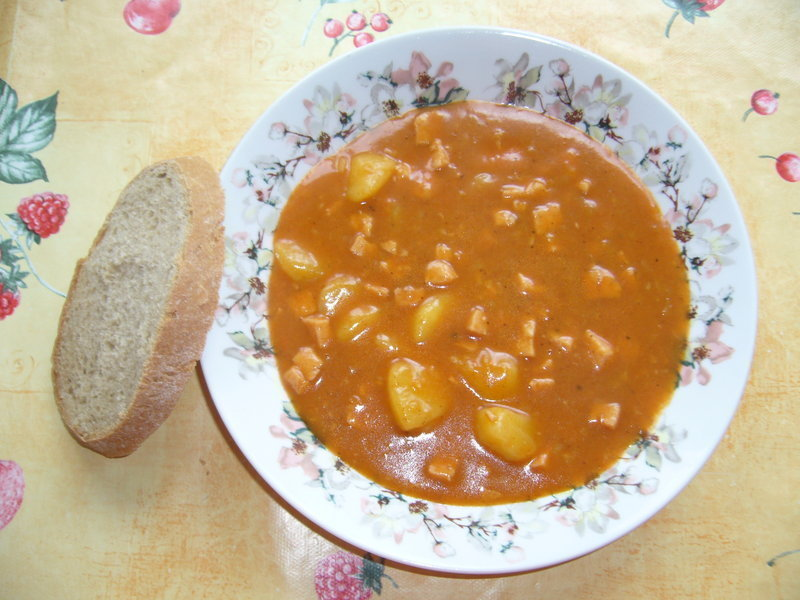 Fotografie receptu: Rychlá gulášová polévka