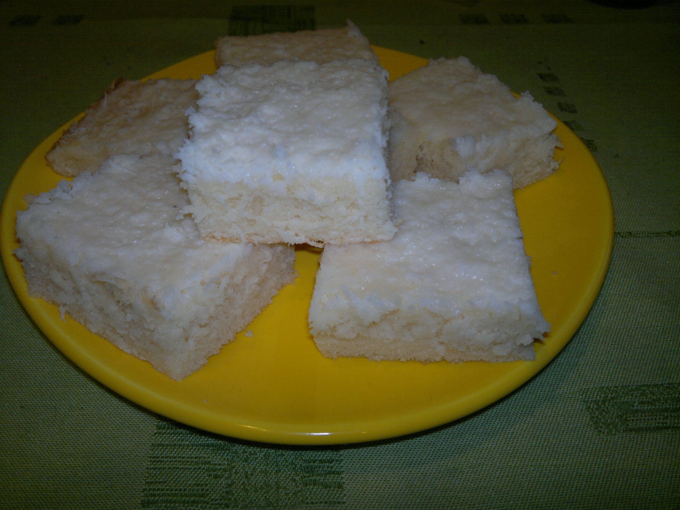 Recept Řezy Raffaello - Řezy Raffaello