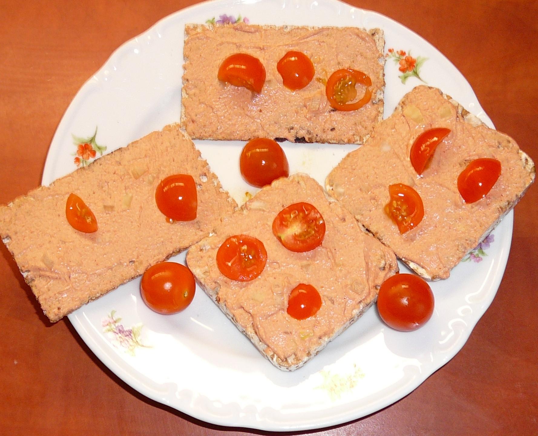 Recept Dietní pikantní tvarohová pomazánka  - Dietní pikantní tvarohová pomazánka