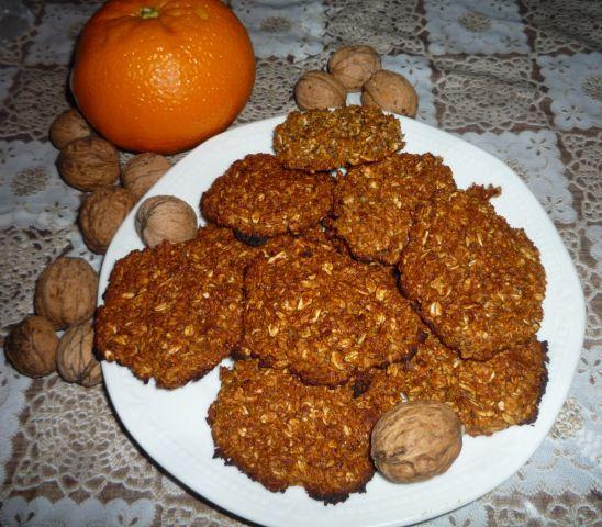 Šťavnaté ovesné sušenky