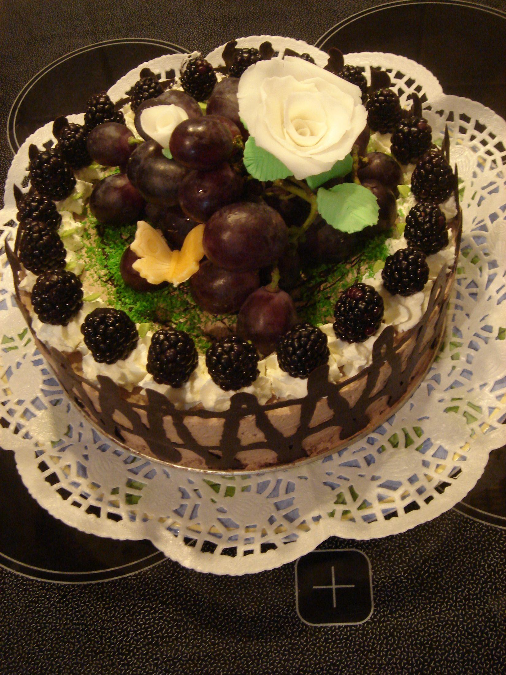 Recept Pařížský dort s ovocem - Pařížský dort s ovocem