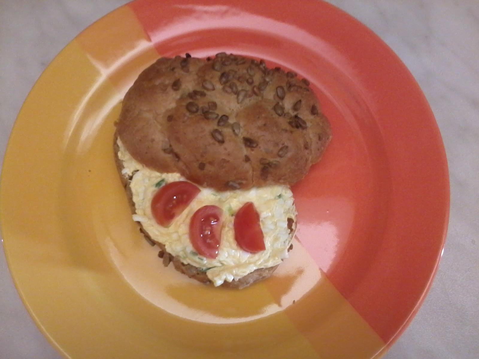 Fotografie receptu: Jarní vajíčková pomazánka