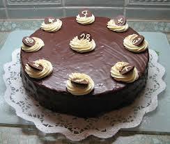Velký ořechový dort