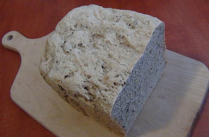 Recept Pšenično-žitný chléb se semínky z domácí pekárny - Chleb