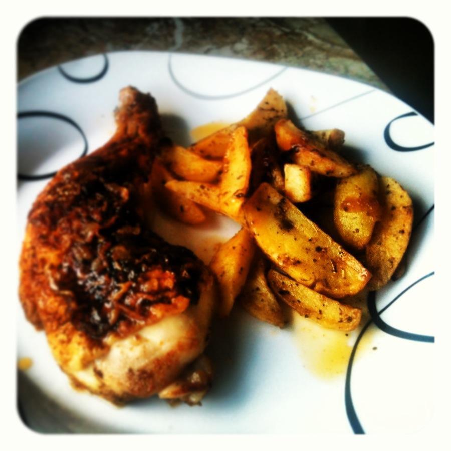Fotografie receptu: Výtečné pečené brambory