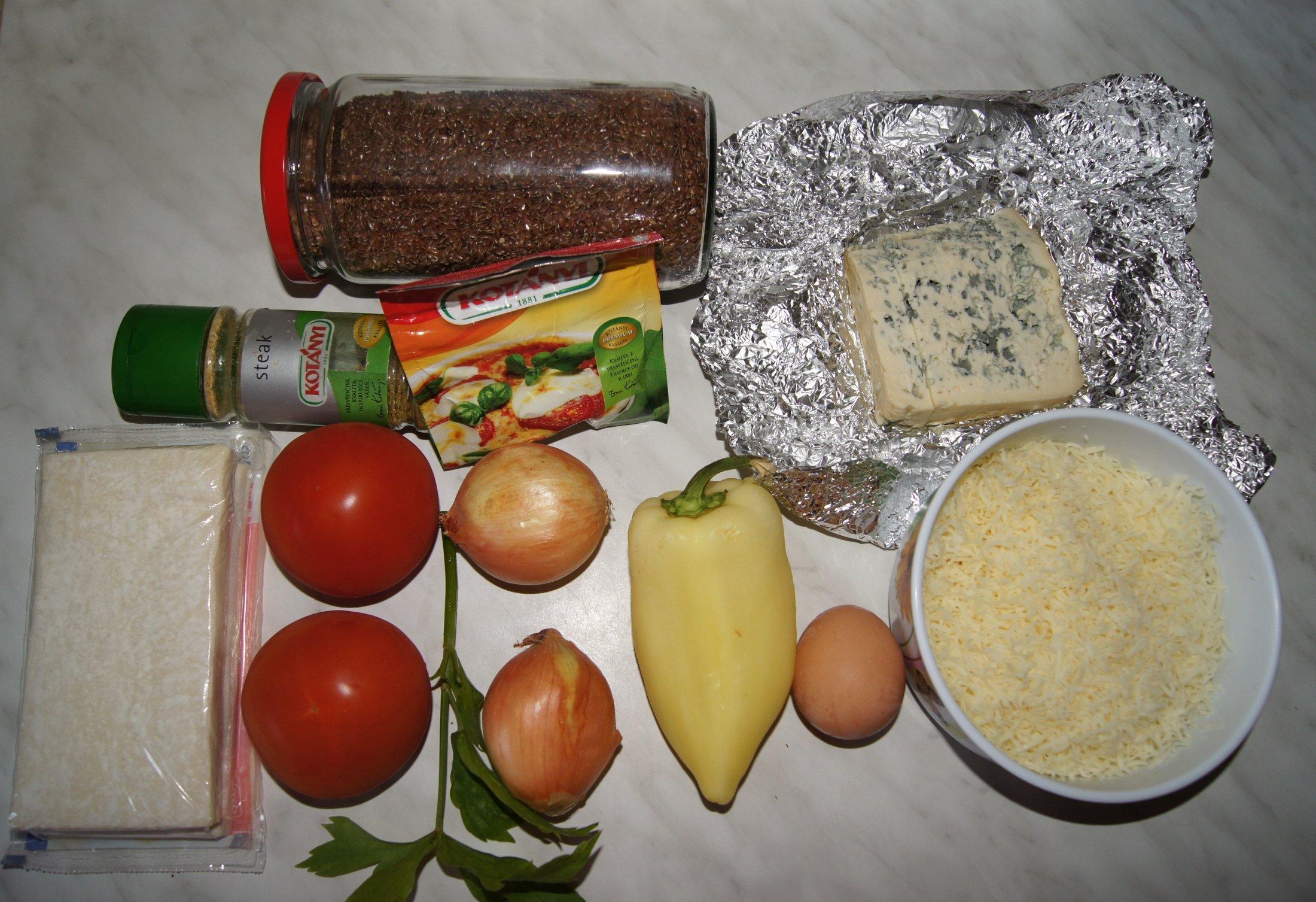 Recept Slaný vegetariánský závin - Suroviny