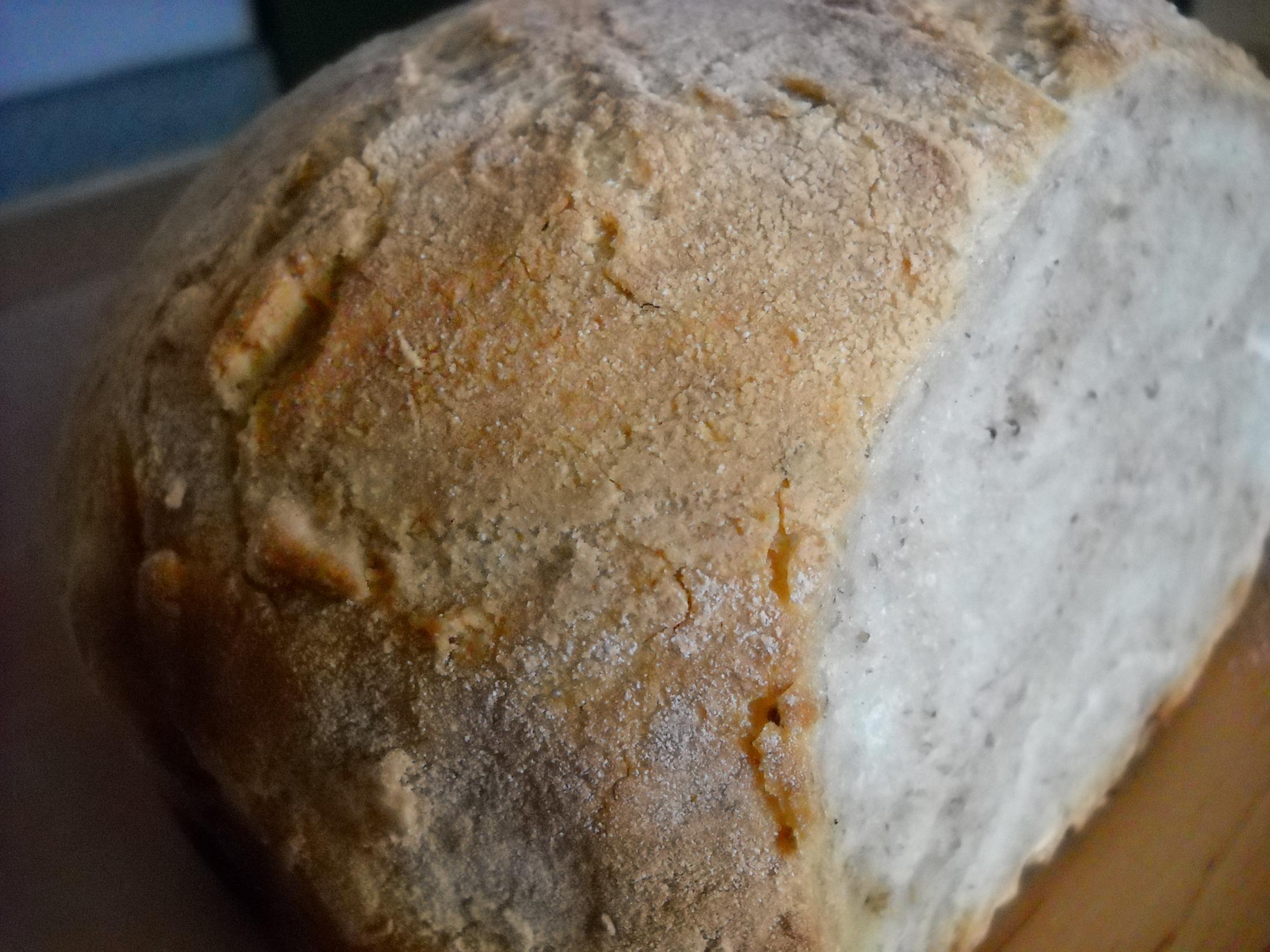 Chleba pečený v hrnci