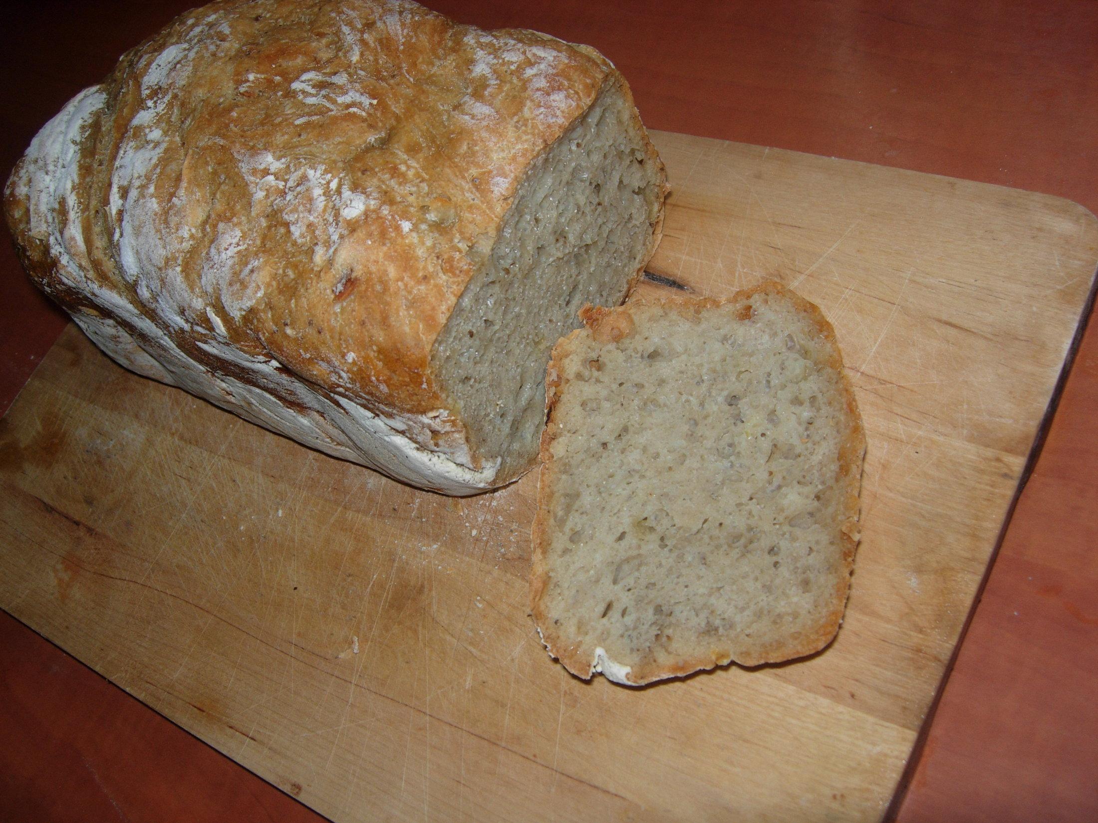 Domácí chléb bez domácí pekárny