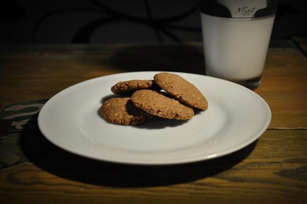 Ovesné sušenky se skořicí