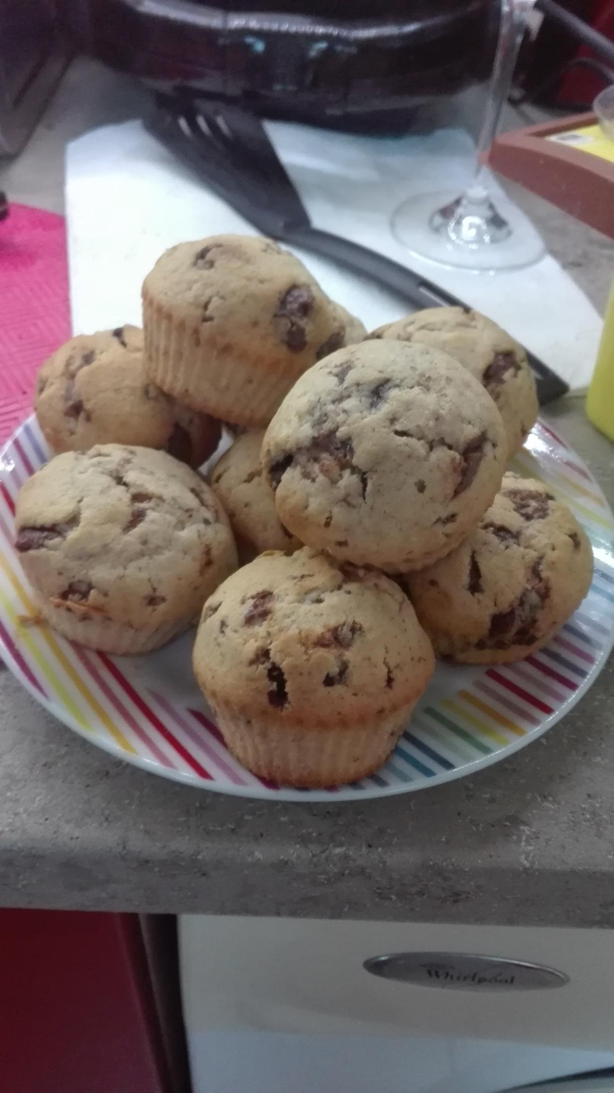Vláčné muffiny