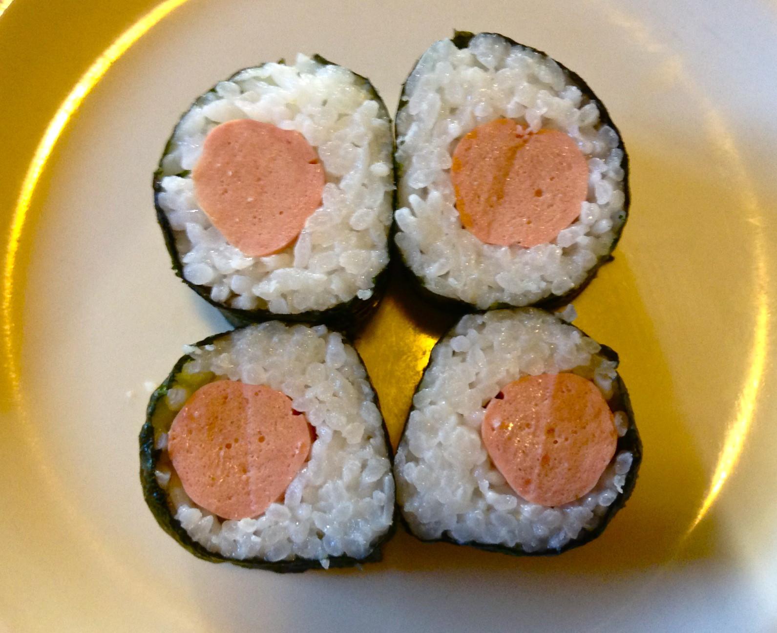 Fotografie receptu: Levné sushi po česku