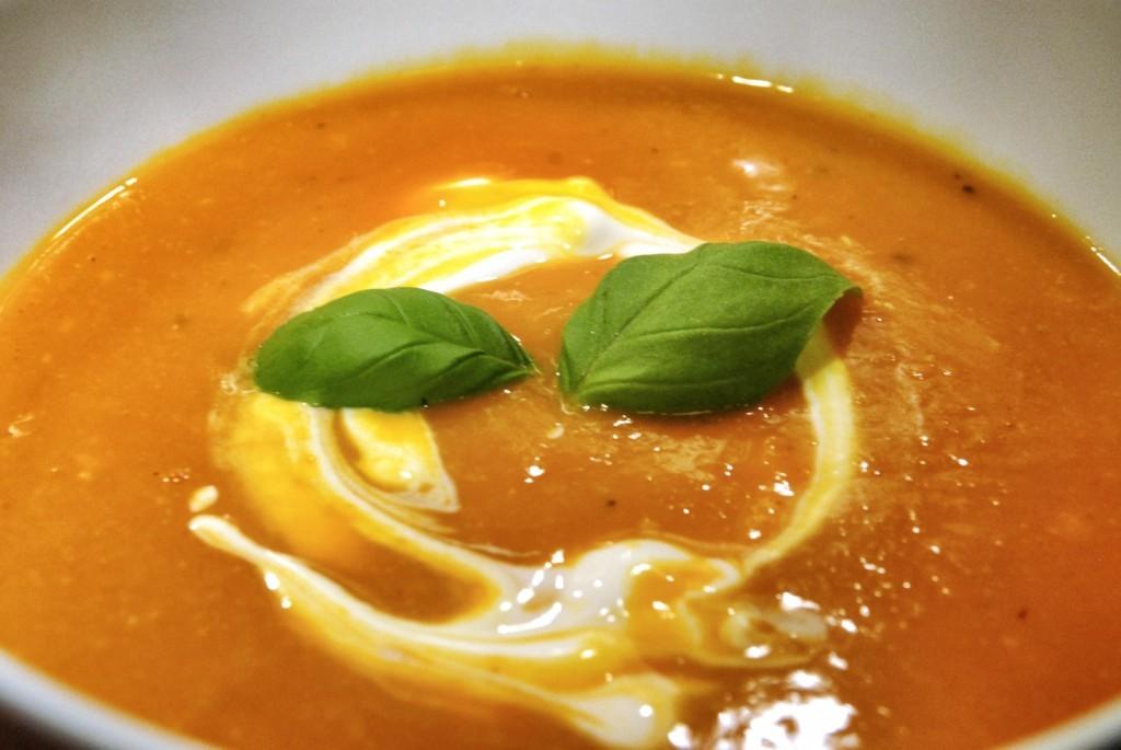 Dýňová polévka s vůní dálek