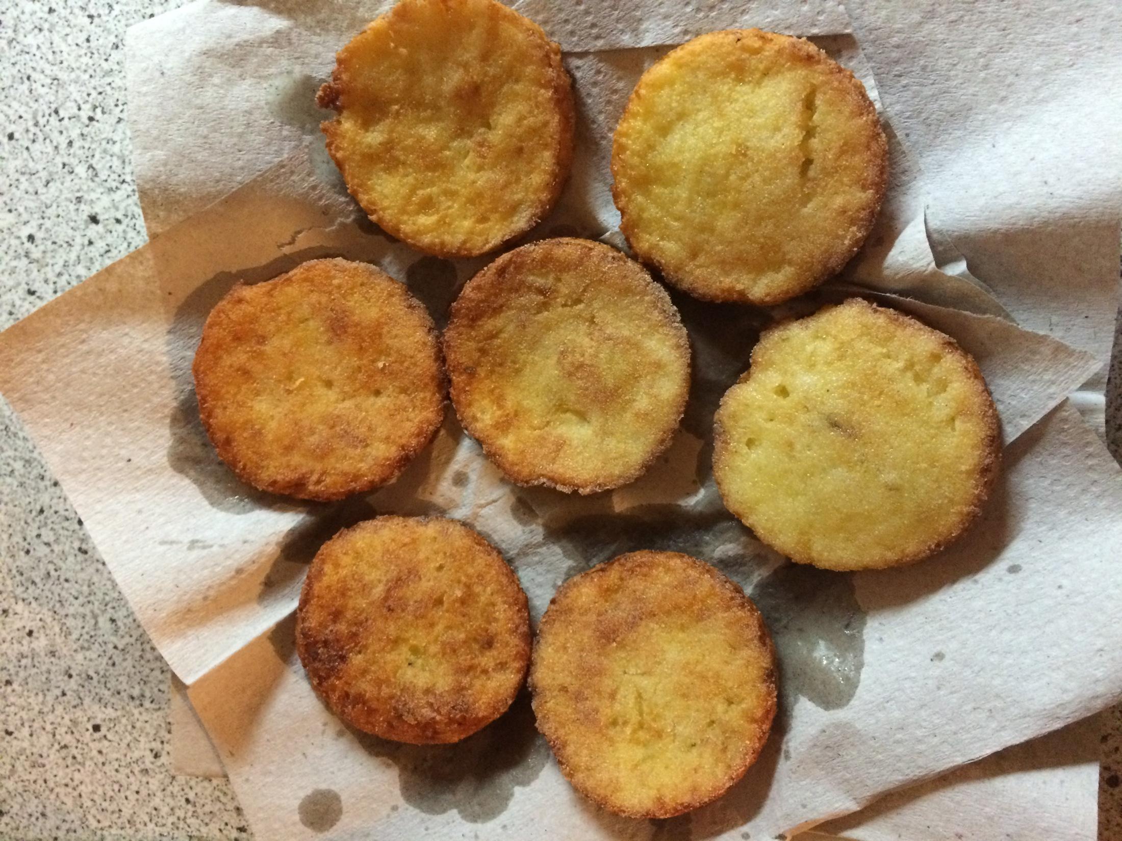 Bramborové placičky z vařených brambor