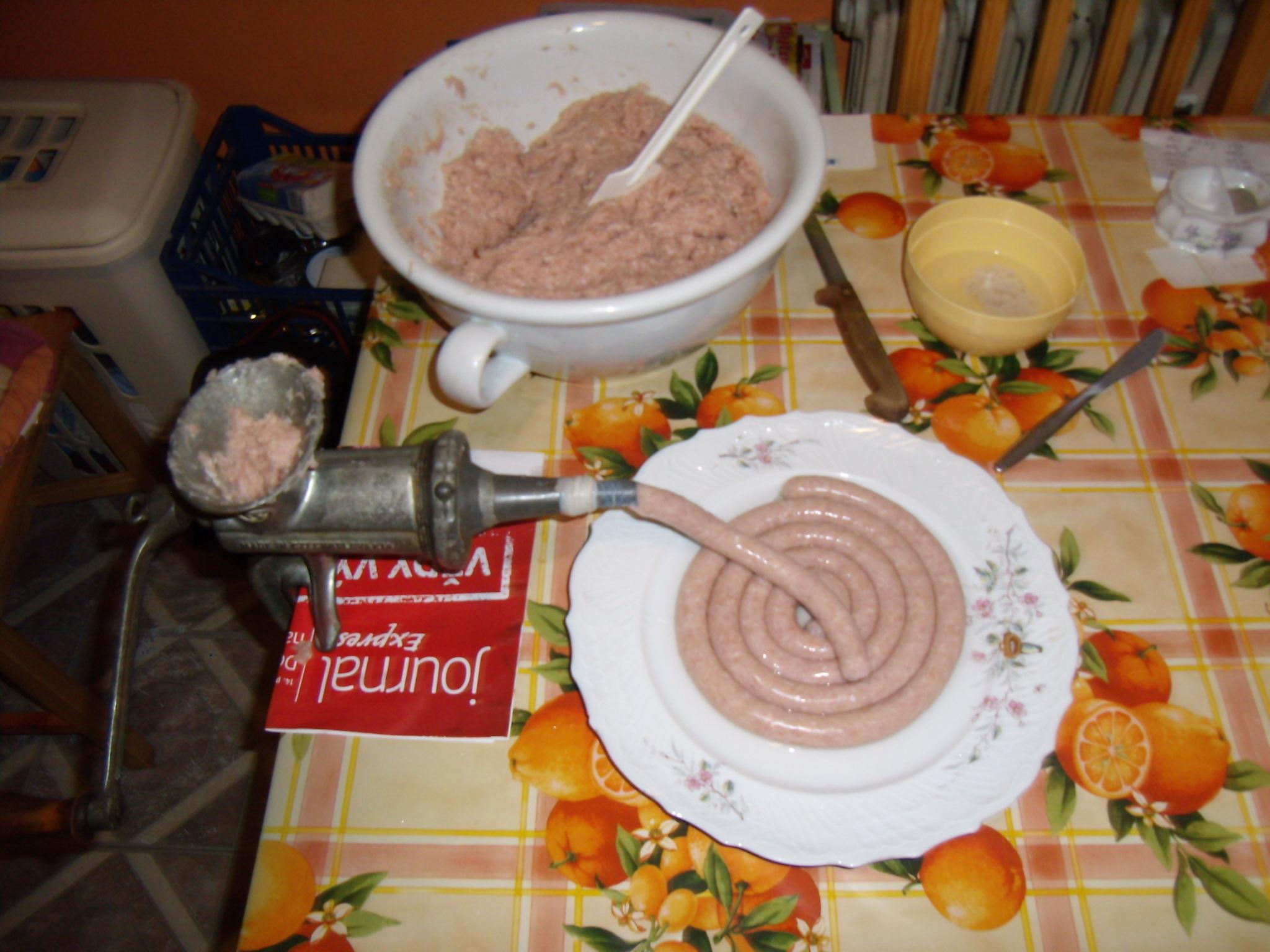 Recept Vinná klobása po domácku - Moje malá domácí narážka
