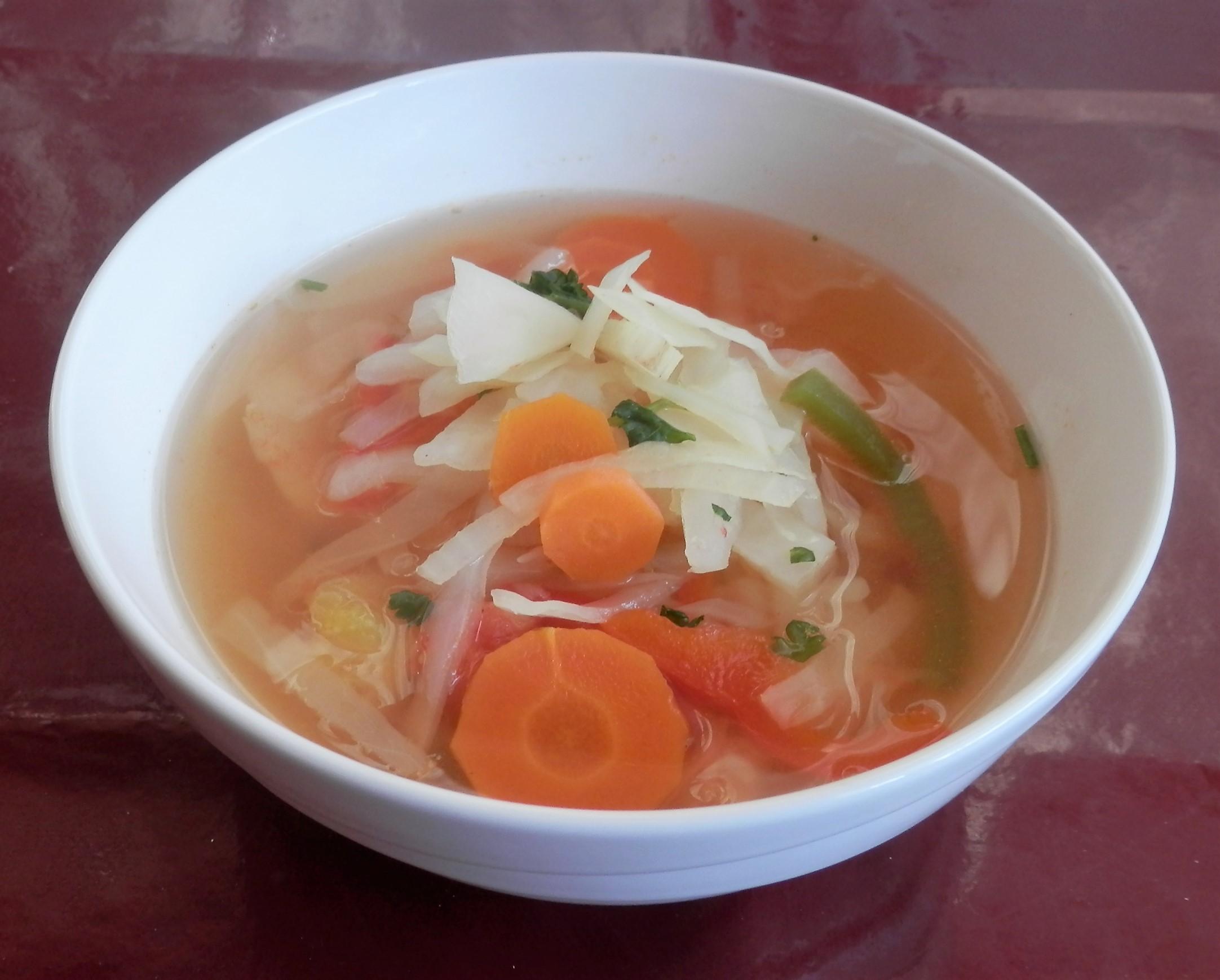 Recept Lehká tukožroutská polévka - Tukožroutská polévka