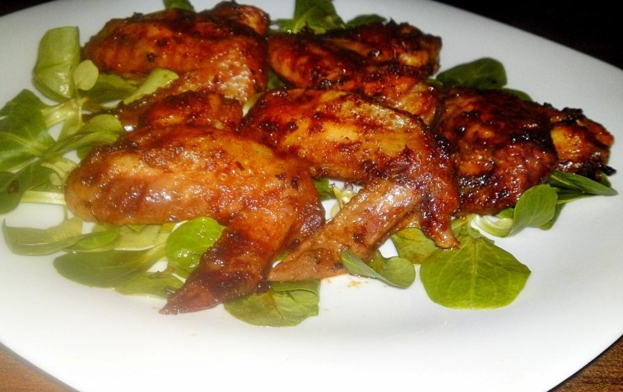 Recept Pikantné marinované  kuracie krídelká - Pikantní marinovaná kuřecí křídla