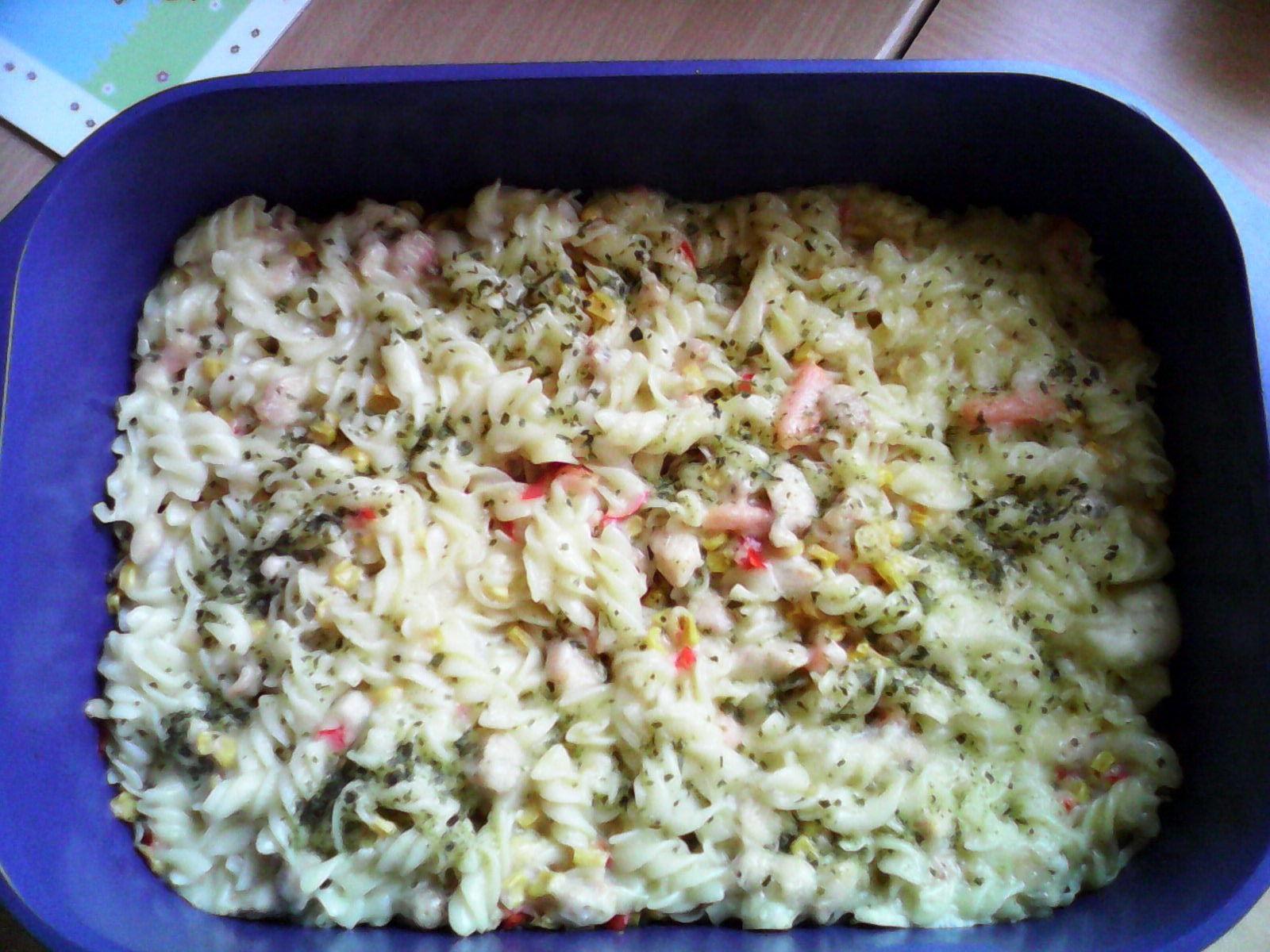 Fotografie receptu: Vynikající zapečené těstoviny