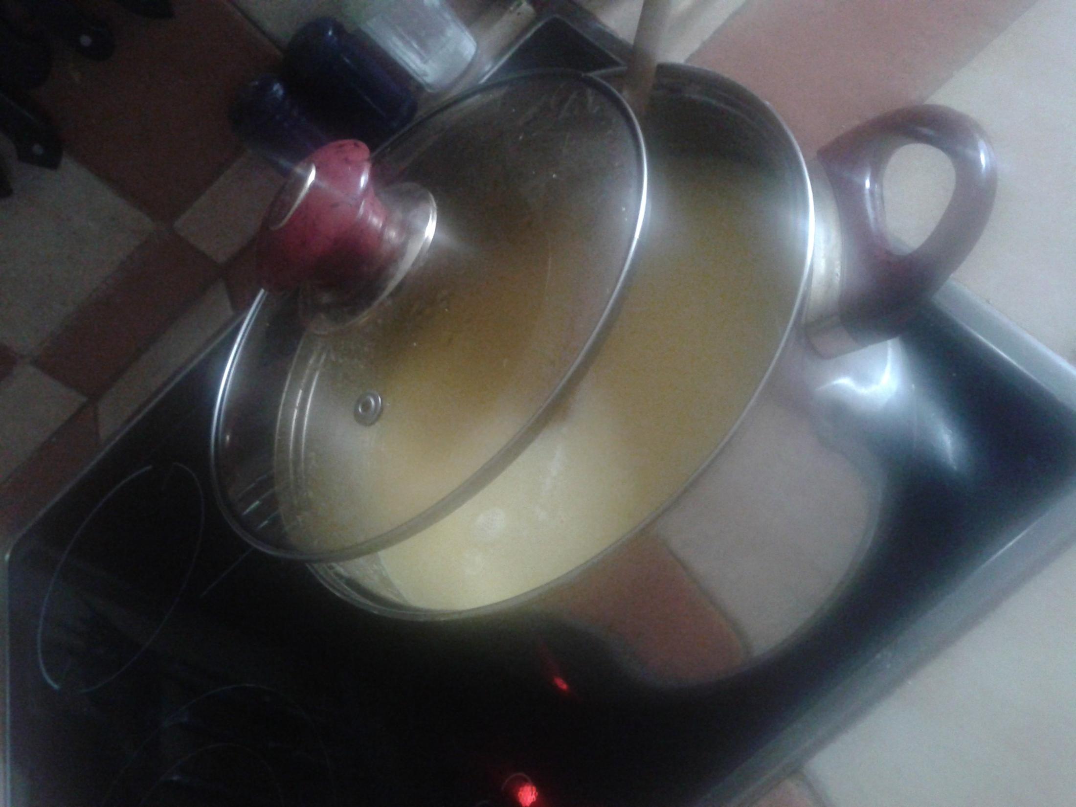 Fotografie receptu: Květáková polévka