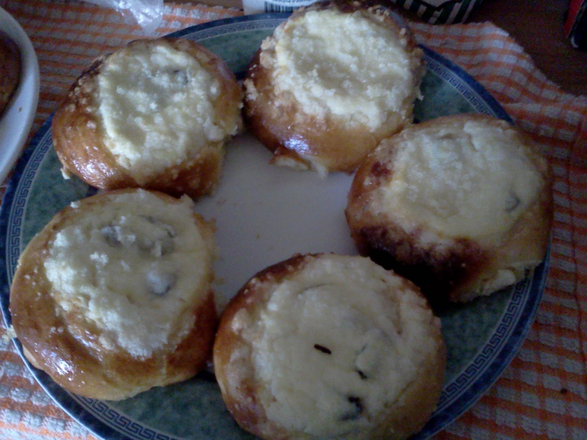 Recept Moravské kynuté koláče - Takže tohle byl můj první hokus pokus, který se celkem povedl :-)