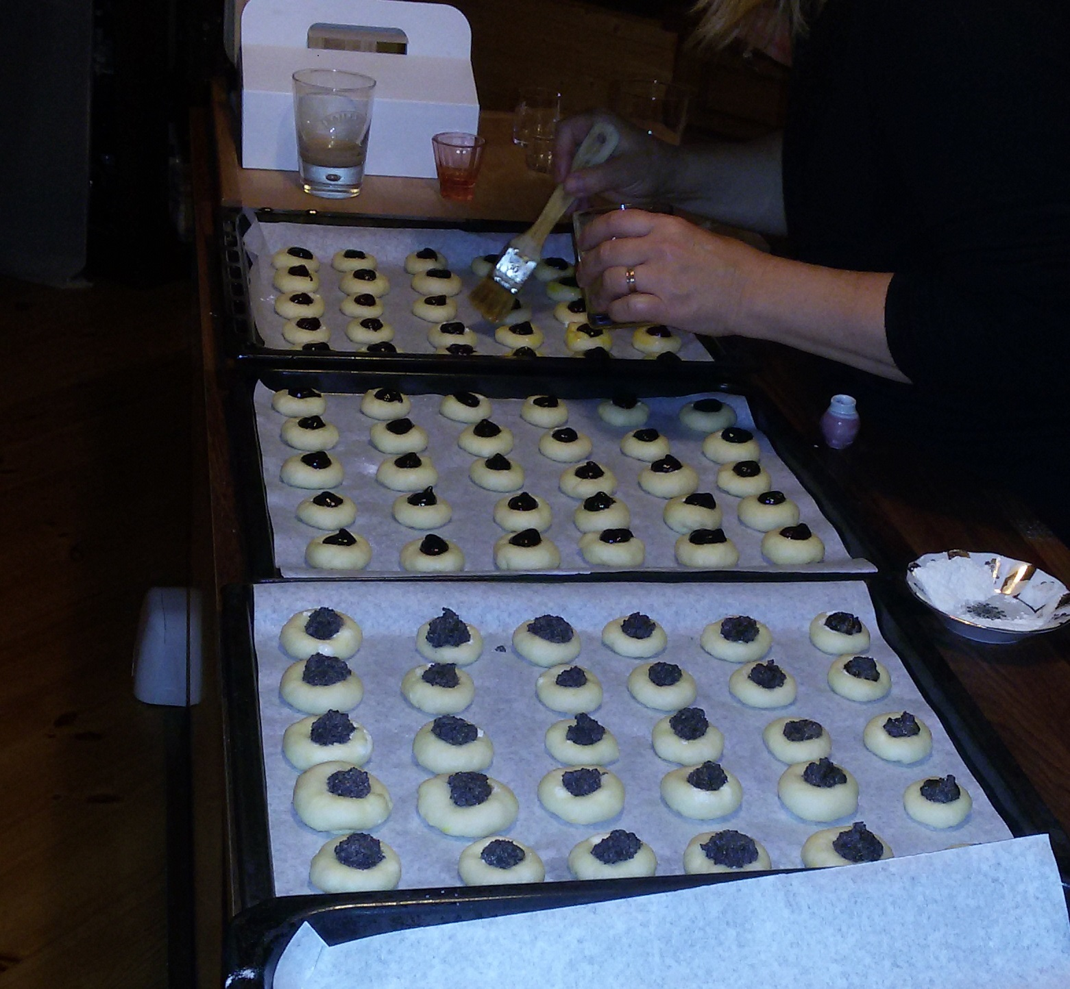 Recept Svatební koláčky - Svatební koláčky 1