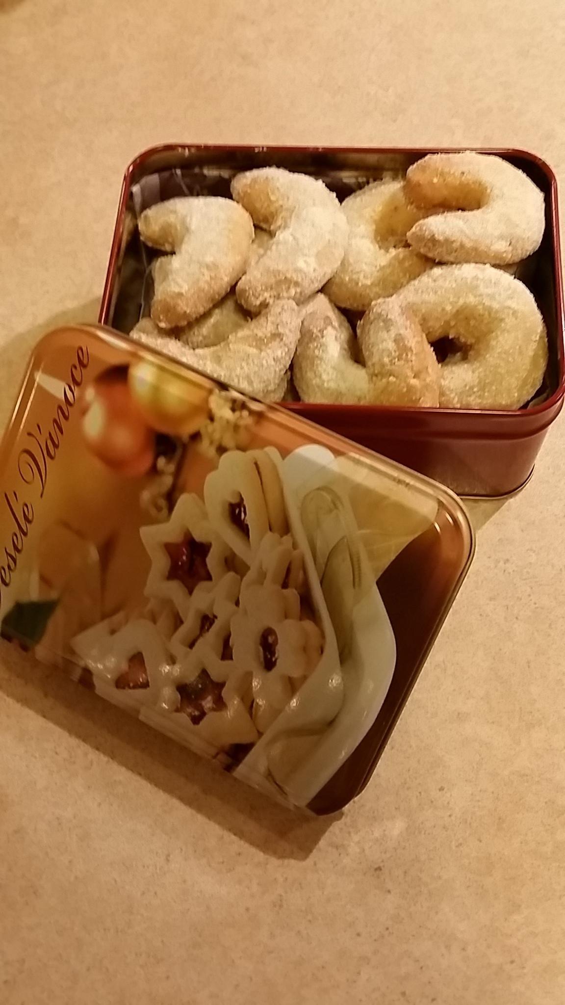 Recept Babiččiny vanilkové rohlíčky - Poloviční množství