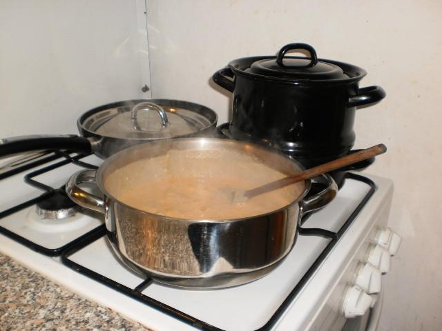 Recept Dušené lišky na paprice - Dušené lišky na paprice