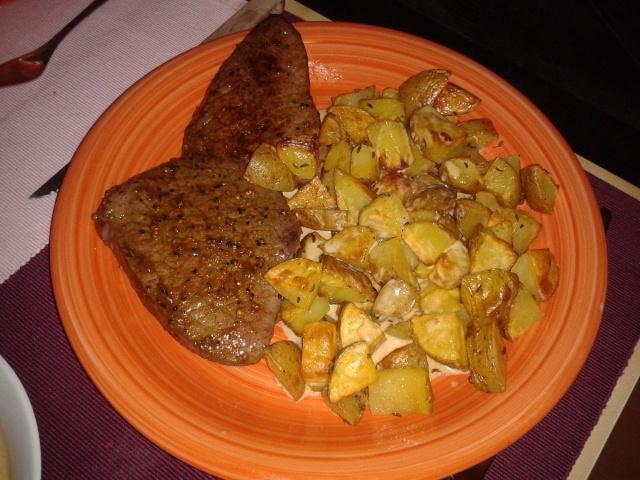 Pepřový steak s omáčkou
