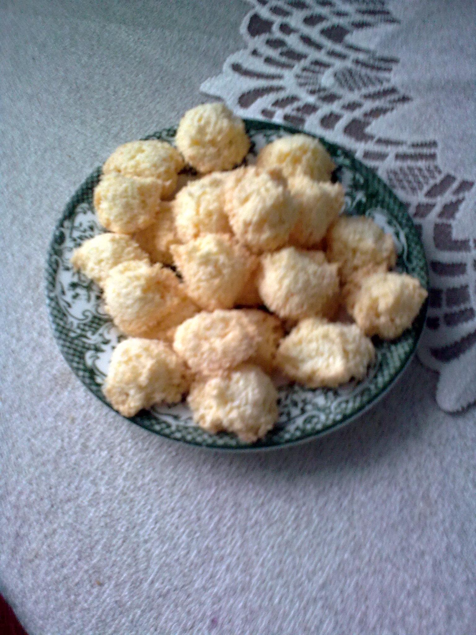 Kokosky z celých vajec