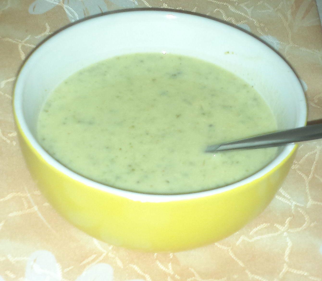 Brokolicová polévka 2
