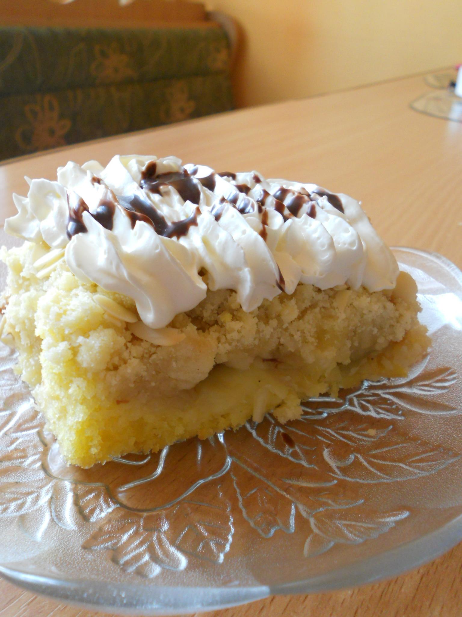 Recept Křehký rebarborový koláč - Křehký rebarborový koláč